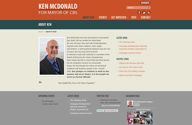 Ken McDonald for Mayor